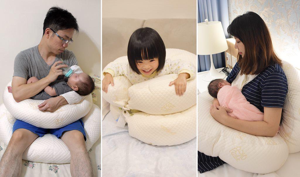 GreySa格蕾莎【哺乳護嬰枕】月亮枕推薦